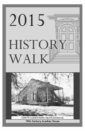 2015 History Walk Downtown Tour Book Cover