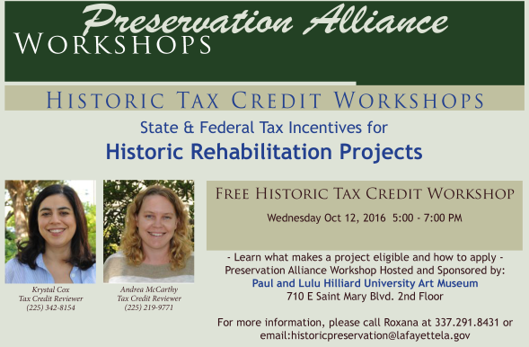 2016-1012 CommercialTax Credit Workshop