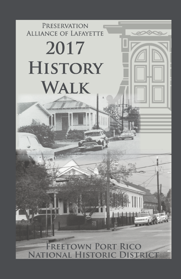freetown 2017 history walk tour bookcover